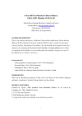 SYLLABUS_of_Modern_Chinese_History_08_fall