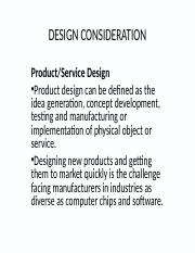 PRODUCT AND SERVICE DESIGN.ppt