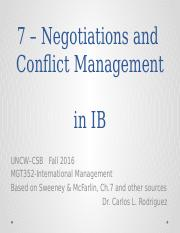S&M 7 - Negotiations and Managing Conflict in IB.pptx