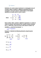 3.1- Matrices