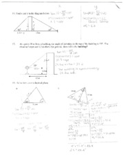 Math 10C Trignonometry Assignment Pg.11