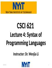 CSCI621_Wenjia_Lecture4.ppt