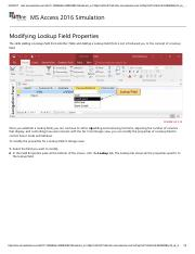 24 - Modifying Lookup Field Properties