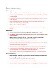 VE Study guide exam 2