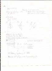 Networks Geometry Notes