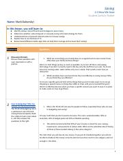 Copy of How We Save - Student Activity Packet 2.3