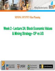 Week 2((2015)-Lect 2A-Introduction to Mine Planning.pdf