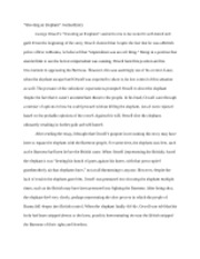english intermediate essay writing african american 2 pages shooting an elephant journal entry