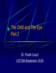The Orbit and Eye Part 2 2016.pptx