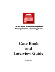 MIT Case Book