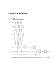 Solutions to End-of-chapter Problems