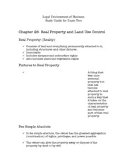 Legal Environment of Business Study Guide for Exam Two