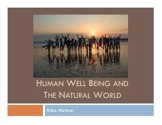 Human Well being and the natural world_final not mid 2.pdf
