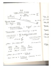 KING FAHD UNIVERSITY CHEMICAL ENGINEERING COURSE NOTES (Fluid Mechanics)-HW4-Q10-Solution