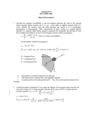 Assignment 5 - 2014 - Solutions