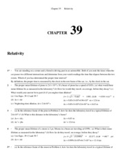 Chapter 39 Homework Solution on University Physics II