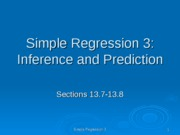 simple regression 3 ppt