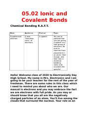 05.02 Ionic and Covalent Bonds.docx