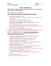Soil Webquest KEY.docx - SOILS WEBQUEST Name TEACHER ...