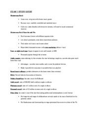 MMC1702 Exam 2 Study Guide