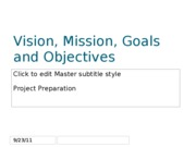 Chapter 3 Vision%2c Mission%2c Goals and Objectives
