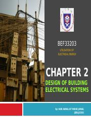 CHAPTER 2 Design of Building Electrical Systems.pptx