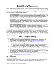 Project 3 Digital Identity Management Assessment