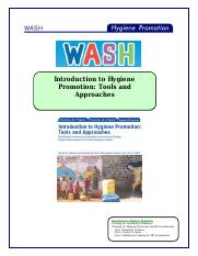 WASH Introduction to Hygiene Promotion.Tools and Approaches.pdf