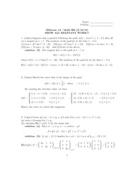 exam 1 A solutions