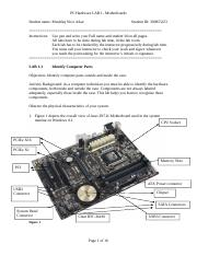 LAB 1 - motherboards(1) (1) - 副本 - 副本.doc