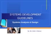 SYSTEMS_DEVELOPMENT_GUIDELINES[1].ppt
