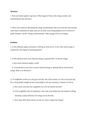 JJAY CUNY Physics Chapter 11 Homework Questions and Problems