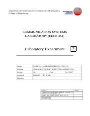 lab 2 report comsys