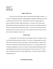 Short Writing 1