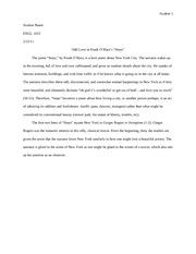 poetry analysis essay graphic organizer