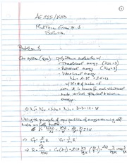 Sample 2 Midterm 1 Solutions