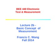 Lecture 2b measurement concept