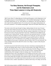 tricking and tripping analysis
