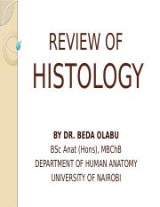 REVIEW OF HISTOLOGY II.pptx