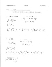 Calculus for Engineering Tech 1 workshop solutions 8