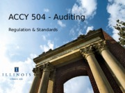 Auditing Standards GAAS