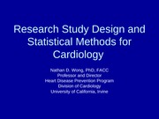 Research Study Design and Statistis Aug 2008-1