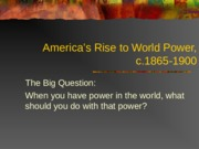 Rise+to+World+Power