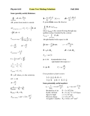 Exam2_2004Fall_Solutions