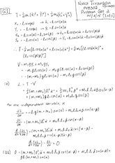 PVB302 Classical Mechanics  Problem Set 2