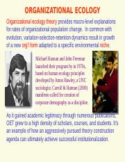 ORGANIZATIONAL_ECOLOGY.ppt