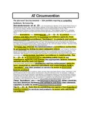 Circumvention Turn