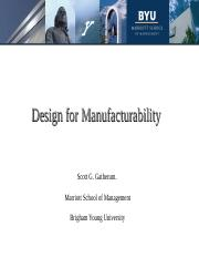 design_for_manufacturability(Sourced from Internet)