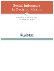Social Influences in Decision Making 2015.ppt