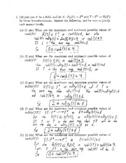 Final Exam 1a- Solutions (1)